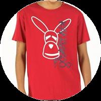 Kangaroo Poo Junior Micro T-Shirt Rot