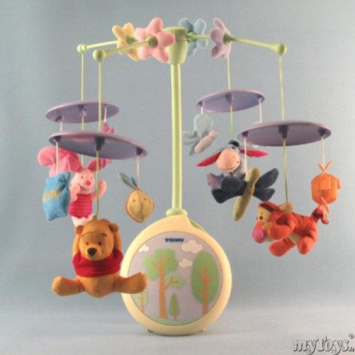 Mobile: Winnie the Pooh Zauber Mobile von Tomy mit 50 ...