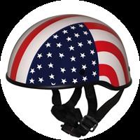 Roadstar Helm Custom Stars & Stripes