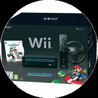 Nintendo Wii Spielekonsole inkl. Mario Kart Pack