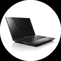 Notebook Lenovo IdeaPad i7 Z570 M55B2GE - 2670QM 8GB 750GB GT540M Blu-ray-Brenner!