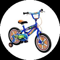 Hot Wheels Fahrrad 16 Zoll von Stamp