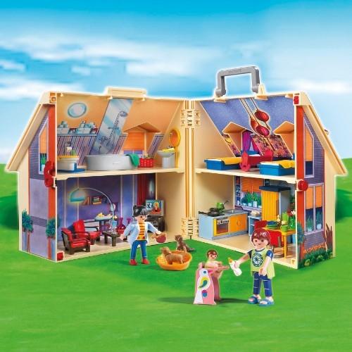 Neues mitnehm puppenhaus 5167 von playmobil kaufen und 45 for Playmobil haus schlafzimmer