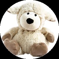 "Wärme-Stofftier: Beddy Bear™ Schaf ""Dörte"""