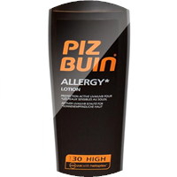 piz buin allergy lotion lsf 30 200ml 48 g nstiger kaufen. Black Bedroom Furniture Sets. Home Design Ideas