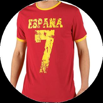 Legends T-Shirt Espana Number 7