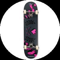 Skateboard Love von Hudora