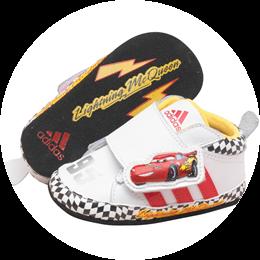 Baby Crib Schuhe Disney Cars 2 von adidas