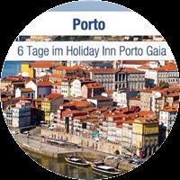 Urlaub: 6 Tage zu zweit in der portugiesischen Hafenstadt Porto