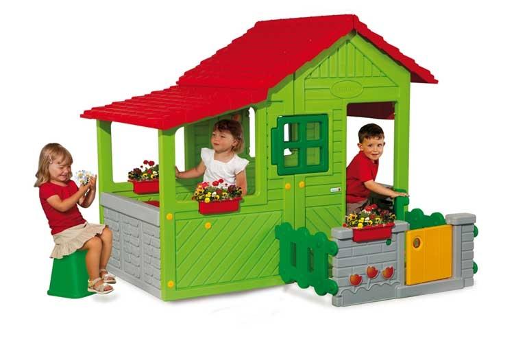 Floralie Haus Spielhaus Mit Vor Und Wintergarten 14 Günstiger