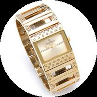 Hochwertige Armbanduhr für Damen.